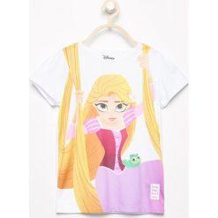 T-shirt z nadrukiem disney - Biały. T-shirty damskie marki bonprix. W wyprzedaży za 14.99 zł.