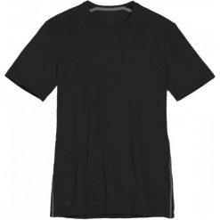 Icebreaker Koszulka Mens Anatomica Ss Crewe Black/Monsoon L. Czarne koszulki sportowe męskie Icebreaker, z lycry, z krótkim rękawem. W wyprzedaży za 229.00 zł.