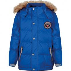 Kurtka puchowa w kolorze niebieskim. Niebieskie kurtki i płaszcze dla chłopców Ticket to Heaven, z puchu. W wyprzedaży za 272.95 zł.
