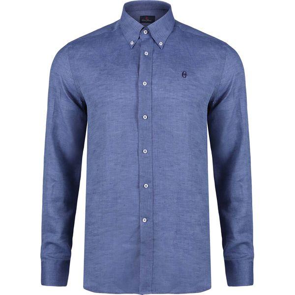352b92cc6b0f72 Koszula CONTE OF FLORENCE OREGON Niebieski - Koszule męskie marki Conte of  Florence. Za 192.00 zł. - Koszule męskie - Odzież męska - Dla mężczyzn ...
