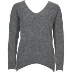 Sweter w kolorze szarym. Szare swetry damskie Gottardi, z wełny. W wyprzedaży za 173.95 zł.