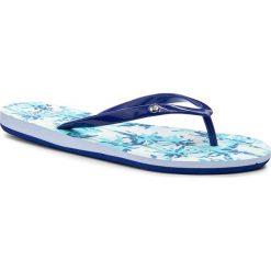 Japonki ROXY - ARJL100551 Buf. Niebieskie klapki damskie Roxy, z materiału. Za 99.00 zł.