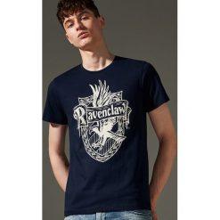 T-shirt Harry Potter - Granatowy. Niebieskie t-shirty męskie House. Za 49.99 zł.