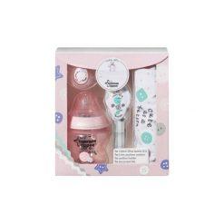 TOMMEE TIPPEE Baby Gift Różowy zestaw prezentowy Butelka + akcesoria. Czerwone śliniaki dla dzieci Tommee Tippee, z bawełny. W wyprzedaży za 37.99 zł.