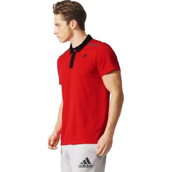świetna jakość niesamowity wybór klasyczny Adidas Koszulka męska polo Q2 Cool365 czerwona r. S (AJ5664)