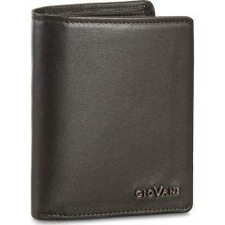 Duży Portfel Męski GIOVANI - CE-104-M Czarny. Czarne portfele męskie Giovani, ze skóry. W wyprzedaży za 149.00 zł.