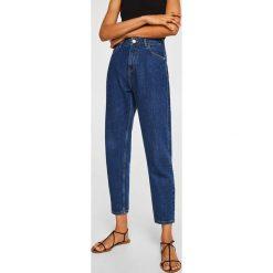 Mango - Jeansy Mom. Niebieskie jeansy damskie Mango. Za 139.90 zł.