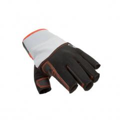 Rękawiczki żeglarskie mitenki 500. Czarne rękawiczki damskie TRIBORD, z materiału. Za 49.99 zł.