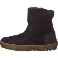"""Skórzane botki """"Can"""" w kolorze niebieskim. Botki dziewczęce Zimowe obuwie dla dzieci. W wyprzedaży za 207.95 zł."""