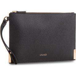 Torebka LIU JO - M Pouch Isola A68183 E0087 Nero 22222. Czarne torebki do ręki damskie Liu Jo, ze skóry ekologicznej. W wyprzedaży za 219.00 zł.