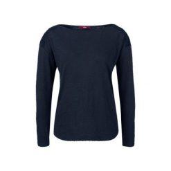 S.Oliver T-Shirt Damski 34 Ciemnoniebieski. Czarne t-shirty damskie S.Oliver. W wyprzedaży za 59.00 zł.