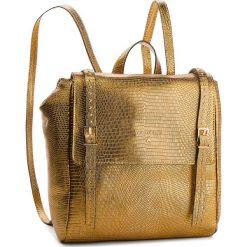 Plecak PATRIZIA PEPE - 2V8184/A4H1-Y342 Dark Gold. Żółte plecaki damskie Patrizia Pepe, ze skóry. W wyprzedaży za 1,249.00 zł.