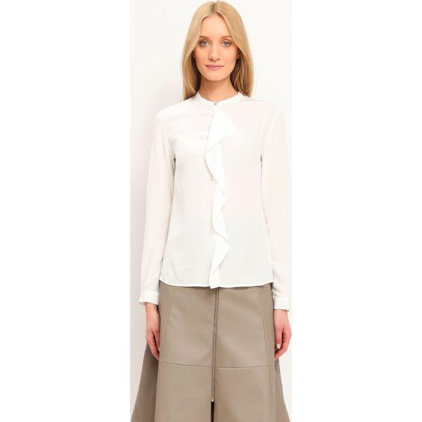 Koszula długi rękaw damska gładka Białe koszule damskie  BxNdC
