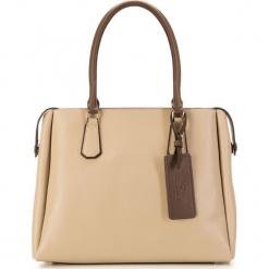 Torebka damska 85-4E-207-9. Brązowe torebki do ręki damskie Wittchen, w paski. Za 455.00 zł.