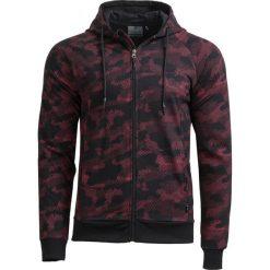 Bluza męska BLM606 - multikolor - Outhorn. Czarne bluzy męskie Outhorn, na lato, z bawełny. W wyprzedaży za 59.99 zł.