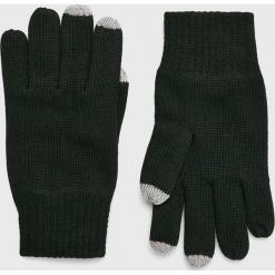S. Oliver - Rękawiczki. Czarne rękawiczki męskie S.Oliver, z bawełny. Za 89.90 zł.