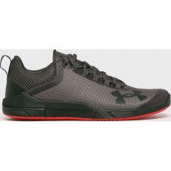 Under Armour - Buty. Czarne buty sportowe męskie Under Armour, z materiału. W wyprzedaży za 399.90 zł.