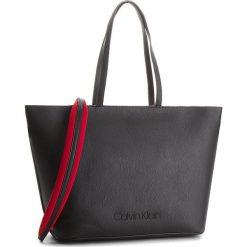 Torebka CALVIN KLEIN - Pop Touch Shopper K60K604286  001. Czarne torebki shopper damskie Calvin Klein, ze skóry ekologicznej. Za 699.00 zł.