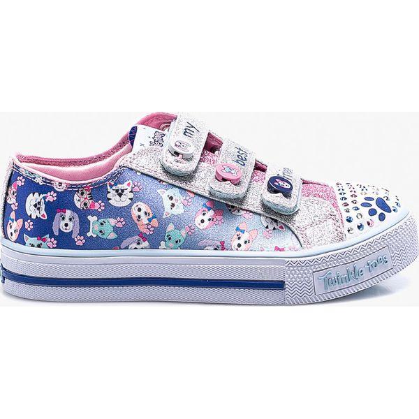 3a43f17562906 Skechers - Tenisówki dziecięce - Buty sportowe dziewczęce marki ...