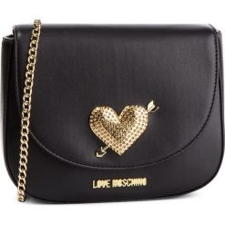 Torebka LOVE MOSCHINO - JC4150PP17LY0000 Nero. Czarne torebki do ręki damskie Love Moschino, ze skóry ekologicznej. Za 639.00 zł.