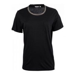 Mustang T-Shirt Damski Xs Czarny. Czarne t-shirty damskie Mustang, z materiału, z okrągłym kołnierzem. W wyprzedaży za 106.00 zł.