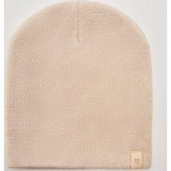 Czapka z błyszczącą nitką - Kremowy. Białe czapki i kapelusze damskie House. Za 19.99 zł.