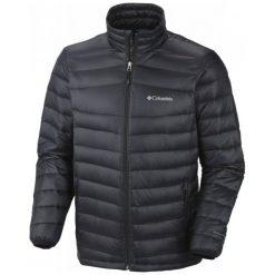 Columbia Kurtka Platinum 860 Turbodown Down Jacket Black S. Czarne kurtki sportowe męskie Columbia, na zimę, z puchu. W wyprzedaży za 479.00 zł.