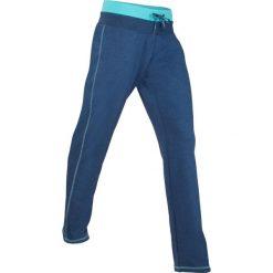 Spodnie sportowe, długie, Level 1 bonprix kobaltowy melanż. Spodnie dresowe damskie marki WED'ZE. Za 59.99 zł.