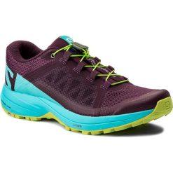 Buty SALOMON - Xa Elevate W 401378 22 V0 Dark Purple/Blue Curacao/Acid Lime. Fioletowe obuwie sportowe damskie Salomon, z materiału. W wyprzedaży za 379.00 zł.