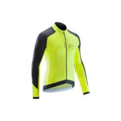 Koszulka długi rękaw na rower szosowy ROADCYCLING 900 męska. Żółte bluzki z długim rękawem męskie B'TWIN. Za 129.99 zł.
