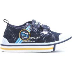 Granatowe Trampki Star Boy. Niebieskie buty sportowe chłopięce Born2be, z materiału. Za 39.99 zł.