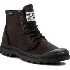 Trapery PALLADIUM - Pampa Hi Originale Tc 75554-060-M Black/Black. Czarne śniegowce i trapery męskie Palladium, z materiału. W wyprzedaży za 299.00 zł.