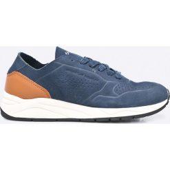 Guess Jeans - Buty. Niebieskie buty sportowe męskie Guess Jeans, z jeansu. W wyprzedaży za 329.90 zł.