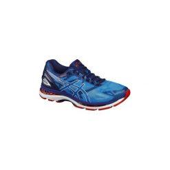 Buty do biegania GEL NIMBUS 19 męskie. Niebieskie buty sportowe męskie Asics, z poliesteru. W wyprzedaży za 429.99 zł.