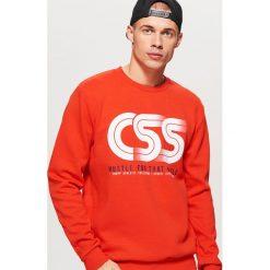 Bluza z kolekcji CLASSIC - Czerwony. Czerwone bluzy męskie Cropp. Za 99.99 zł.