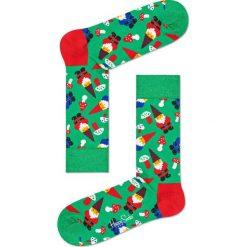 Happy Socks - Skarpetki Santa. Zielone skarpety damskie Happy Socks. W wyprzedaży za 29.90 zł.