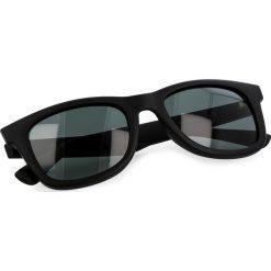 Okulary przeciwsłoneczne BOSS - 0213/S Matt Black DL5. Czarne okulary przeciwsłoneczne damskie Boss. W wyprzedaży za 449.00 zł.