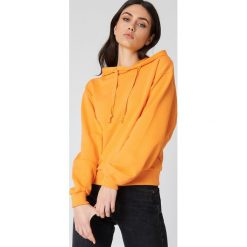 NA-KD Basic Bluza z kapturem basic - Orange. Pomarańczowe bluzy damskie NA-KD Basic. Za 100.95 zł.