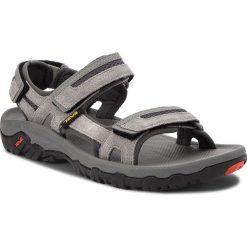 Sandały TEVA - Hudson 1002433 Charcoal Grey. Szare sandały męskie Teva, z materiału. W wyprzedaży za 199.00 zł.