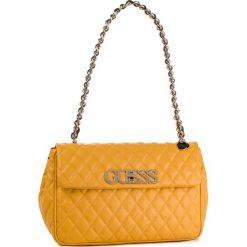 Torebka GUESS - HWVG71 75190 MARIGOLD. Żółte torebki do ręki damskie Guess, z aplikacjami, ze skóry ekologicznej. Za 649.00 zł.