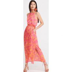 957a0ea836256b Długa sukienka we wzory - Wielobarwny. Sukienki damskie Reserved. Za 179.99  zł.