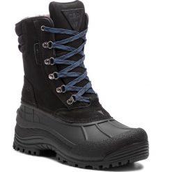 Śniegowce CMP - Kinos Snow Boots Wp 3Q48867 U901. Czarne śniegowce i trapery męskie CMP, z materiału. Za 399.99 zł.
