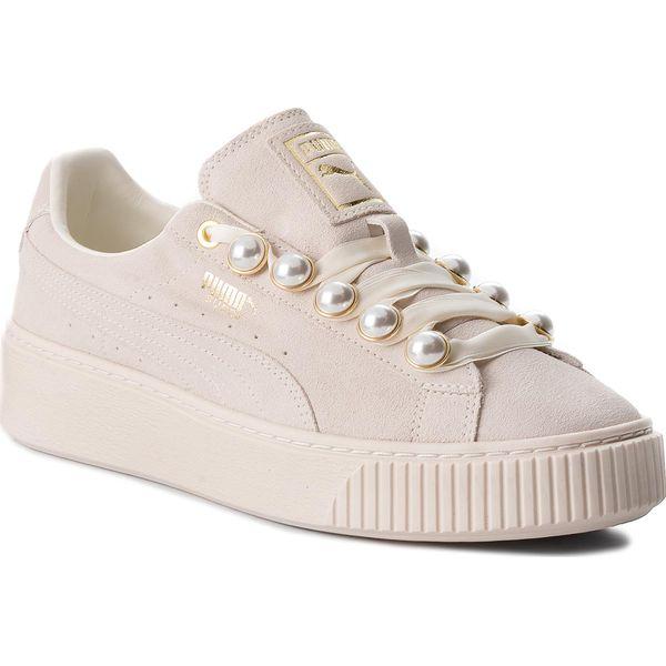Sneakersy PUMA Suede Platform Bling Wn's 366688 02 Whisper WhiteWhisper White