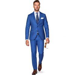 Garnitur Niebieski Luten. Niebieskie garnitury męskie LANCERTO, z tkaniny. Za 1,999.90 zł.