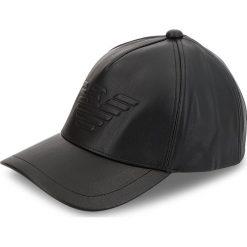 Czapka z daszkiem EMPORIO ARMANI - 627507 8A557 00020 Black. Czarne czapki i kapelusze męskie Emporio Armani. W wyprzedaży za 269.00 zł.