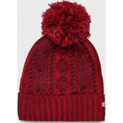 Columbia - Czapka. Brązowe czapki i kapelusze damskie Columbia, z dzianiny. Za 119.90 zł.