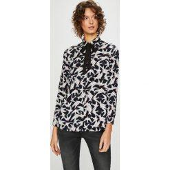 Medicine - Koszula Basic. Szare koszule damskie MEDICINE, z tkaniny, casualowe, z klasycznym kołnierzykiem, z długim rękawem. Za 69.90 zł.