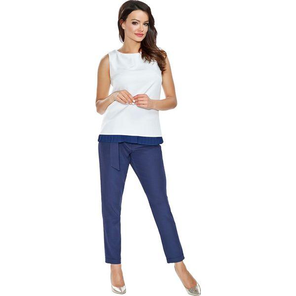 75a3ee5f3e Sklep   Dla kobiet   Odzież damska   Spodnie i legginsy damskie   Spodnie  materiałowe ...