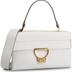 Torebka COCCINELLE - DD5 Arlettis E1 DD5 12 01 01 Blanche H10. Białe torebki do ręki damskie Coccinelle, ze skóry. Za 1,649.90 zł.