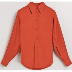 Koszula z mikoromodalu - Czerwony. Czerwone koszule damskie Reserved. Za 239.99 zł.